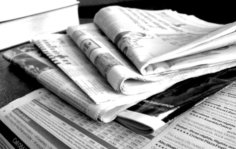 Jon S Newspapers B&W (3)